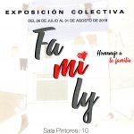 Sala Pintores Exposición Colectiva FAMILY