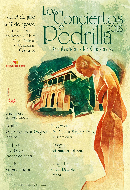 Los Conciertos de Pedrilla 2018